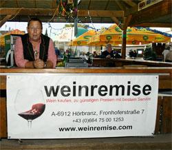 Weinremise - Sponsoring für Triathlet Daniel Blum