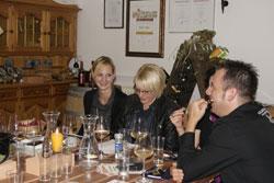 Die Weinverkostung in der Weinremise Hörbranz war ein voller Erfolg